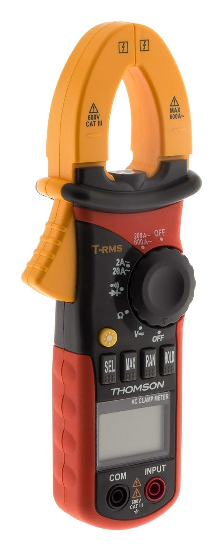 Thomson Stromzange Pro – 6 Funktionen CAT III 600 V