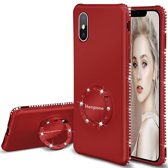 Amazon.com  HENPONE iPhone X Case for Women a932a6f4b9