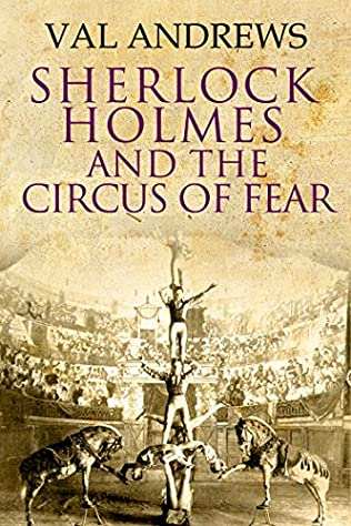 book cover of Sherlock Holmes and the Circus of Fear