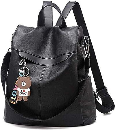 Schule Freizeit Mädchen Damen Rucksack Anti Diebstahl Schultertasche