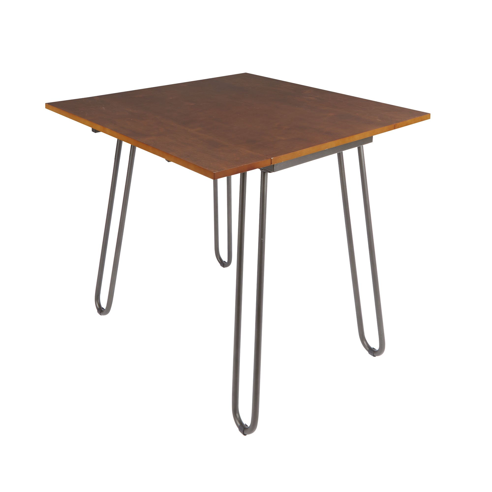 SilverwoodHenry Drop Leaf Table with Hairpin Legs by Silverwood