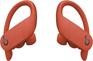 Powerbeats Pro Wireless Earbuds - Apple H1 Headphone Chip, Class 1 Bluetooth Headphones, 9 Hours of Listening Time, Sweat Resistant, Built-in Microphone - Lava Red