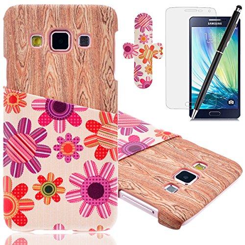 HB-Int 4 x 1 Funda para Protección Gota y Choque Absorción Funda de Parachoques,Funda para Samsung Galaxy A3
