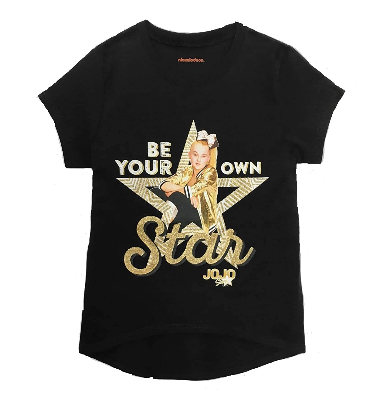 Girls Nickelodeon JoJo Siwa T-Shirt Black