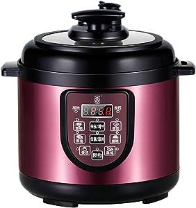 Pressure Capacity 2 Liters, Electric Pressure Cooker Stainless Steel Steamer, 600 W, Digital Display, Programmable