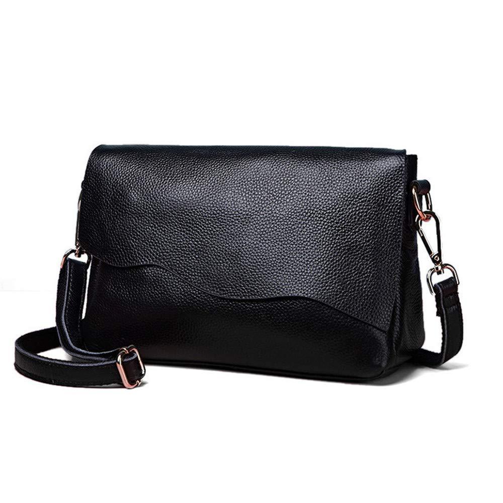 AFCITY Damen Handtasche Kosmetiktasche Ledertasche Dame lässig Messenger Bag einfache Trend Shopping Dating Umhängetasche Shopper Tasche (Farbe   Taro Flour) B07HP7DQGN Schultertaschen
