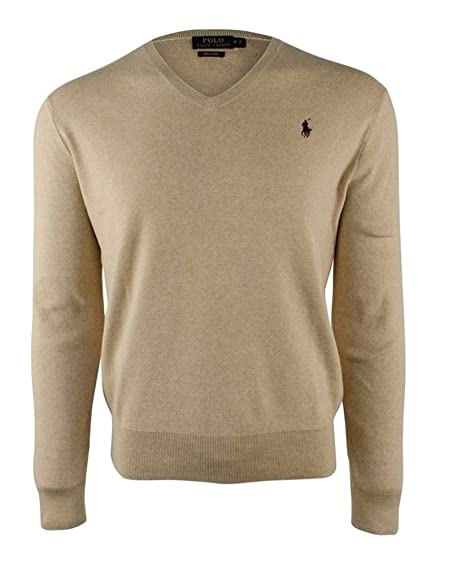 Image Unavailable. Image not available for. Color  Polo Ralph Lauren Mens  Cotton Heather ... 9c0ab44ee836