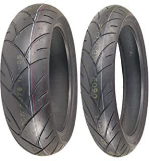 Shinko 003 Stealth Sport-Racing Front /& Rear Tire Set 120//60ZR-17 /& 200//50ZR-17