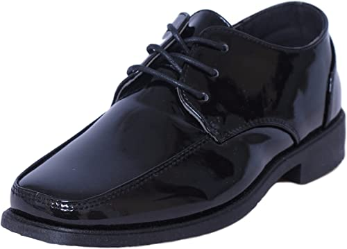 Boys Oxford Lace Up Dress Shoes