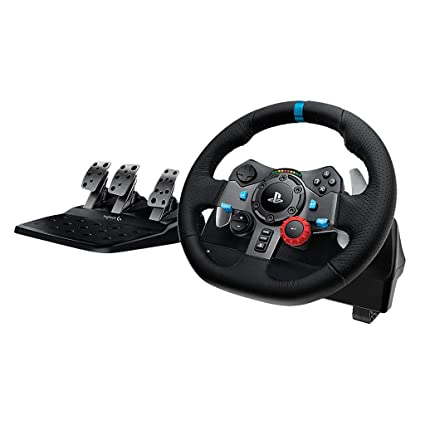 7358b91a65f Amazon.com: Logitech G29 Driving Force Race Wheel + Logitech G Driving  Force Shifter Bundle: Computers & Accessories