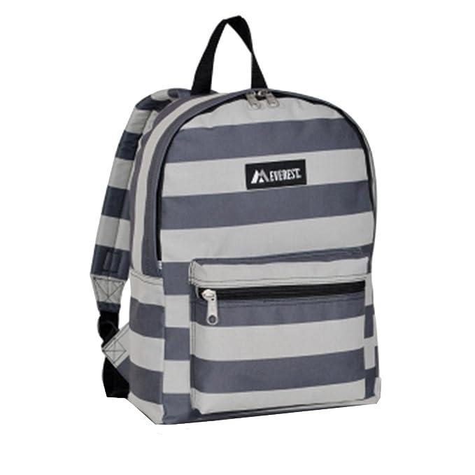 300e4b06e4d3 Everest Basic Pattern Backpack (Stripes)