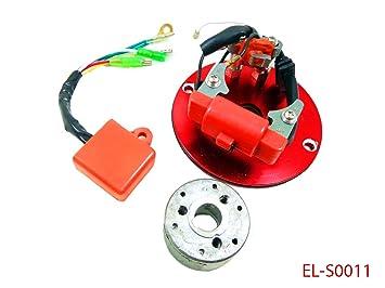 Amazon.com: Racing Stator Magneto Inner Rotor Kit for Honda ... on