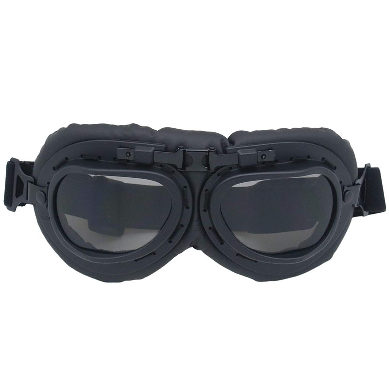 Lafeil Sportbrille Im Sommer Damen Herren Brille Motorrad Motorradbrille Retro World War Ii Brille Sandproof Helm Windschutzscheibe
