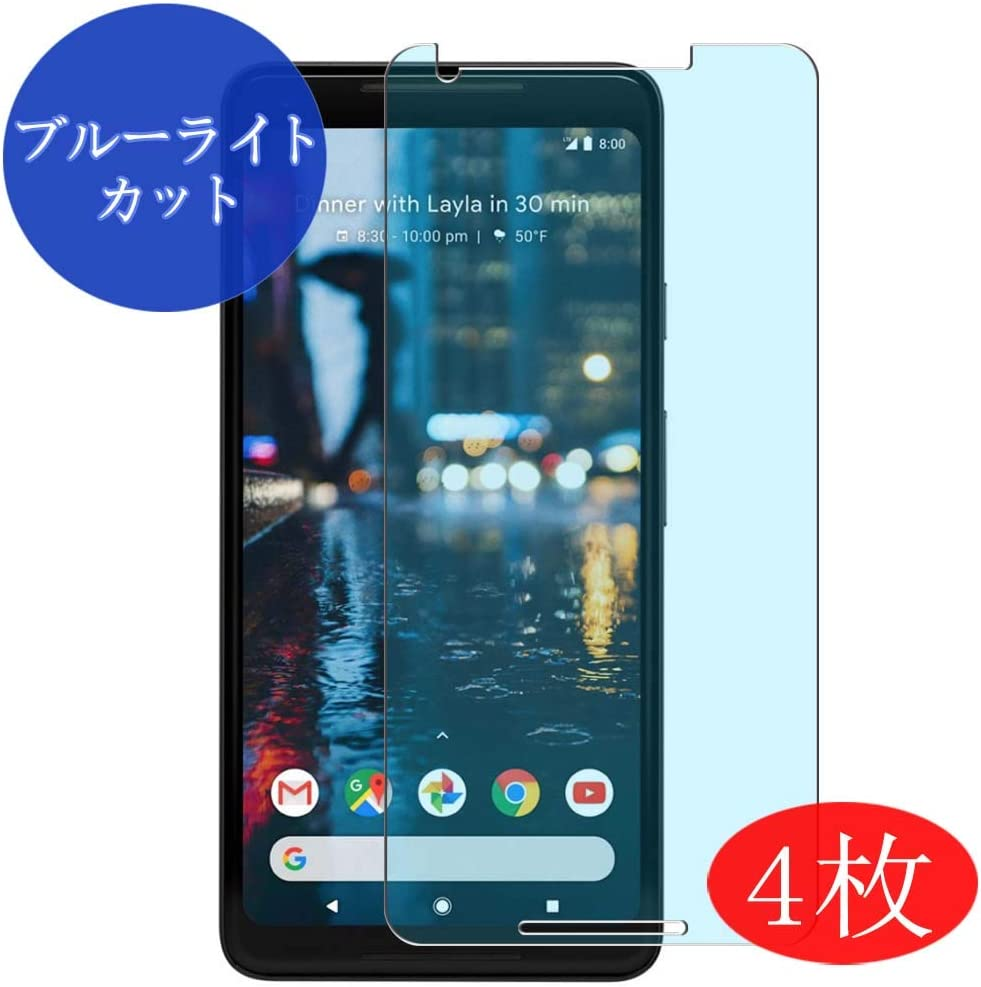 【3 Pack】 Synvy Anti Blue Light Screen Protector for Google Pixel 3a XL Anti Glare Screen Film Protective Protectors Not Tempered Glass