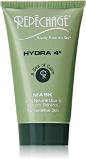 product image for Repechage Hydra 4 Mask - Deeply Moisturizing and Soothing Facial Skincare with Vitamin E + Lactic Acid + Natural Shea Butter + Calamine for Dry and Sensitive Skin Types to Calm and Nourish 2 Oz