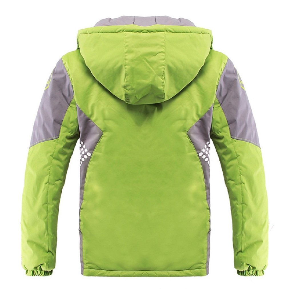 ef7ff9a56 Valentina Latest Boys Thicken Fleece Hooded Jacket Warm Quilted Coat ...