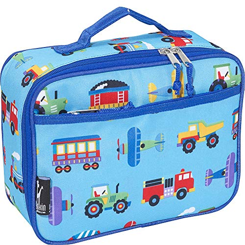 Wildkin Horse Dreams Lunch Box (Trains Planes Trucks)
