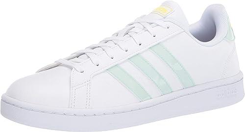 más tarde mejor baratas nuevo estilo y lujo Amazon.com: adidas Grand Court Base - Zapatillas de tenis de ante ...