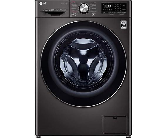 LG F4WV910P2S - Lavadora (10,5 kg, 1400 U/min, A+++), color negro ...