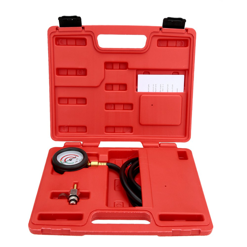 KKmoon Exhaust Back Pressure Tester Set Pressure Gauge Test Tool Kit Sensor 4333090331