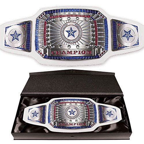 White Championship Award Belt by TrophyPartner
