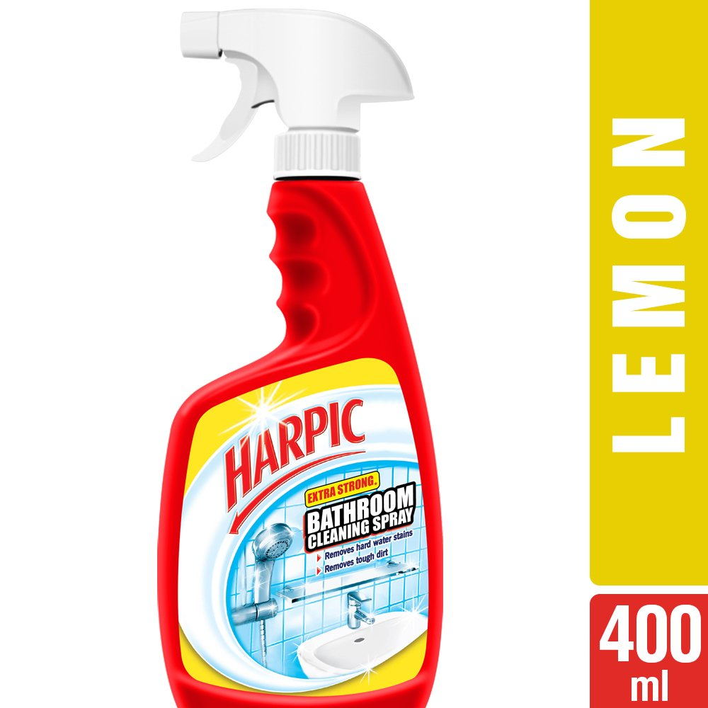 Harpic Extra Strong Bathroom Cleaning Spray - 400 ml: Amazon.in ...