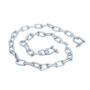 """SEACHOICE 44121 Galvanized Anchor Lead Chain ¼"""" x 4'"""