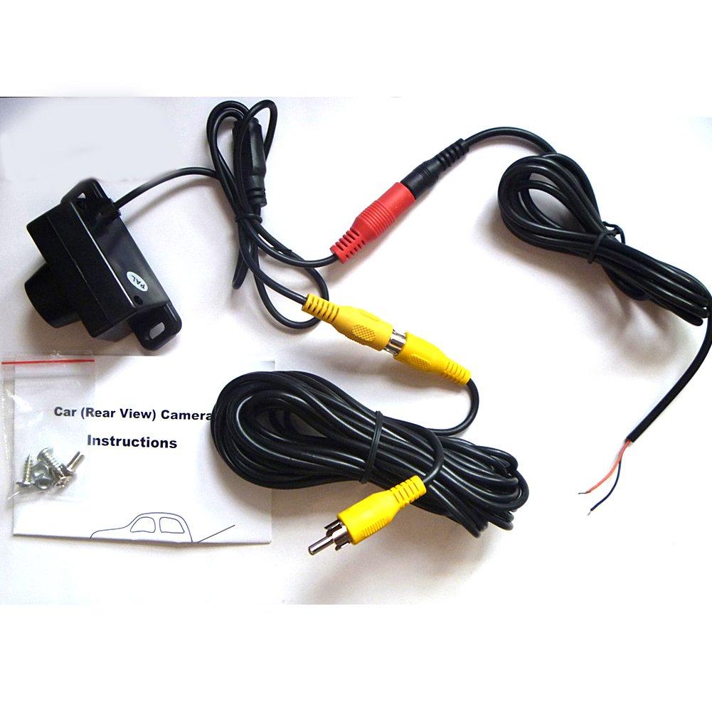 Pathson 7 Pouces TFT LCD Moniteur de Voiture R/étroviseur Cam/éra de Recul Moniteur de Voiture