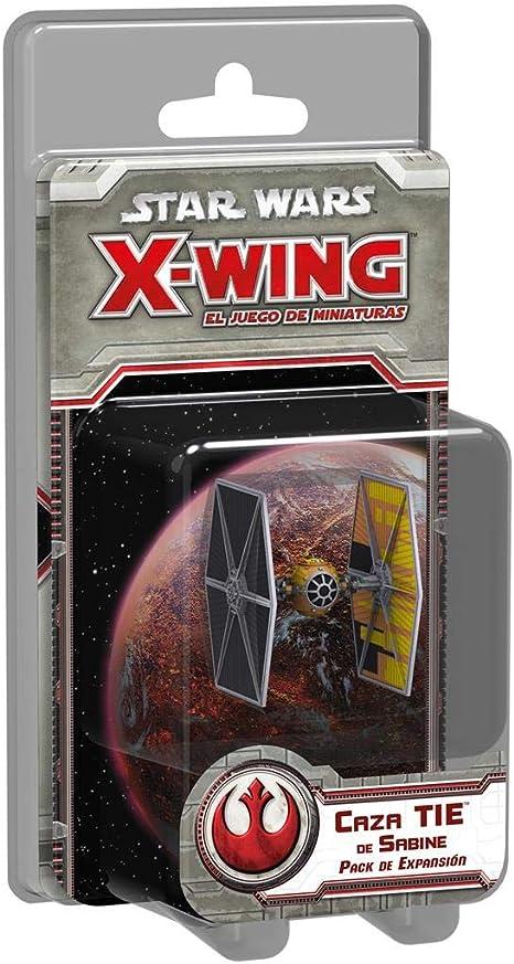 Fantasy Flight Games- Strar Wars X-Wing: Caza Tie de Sabine - Español (1): Amazon.es: Juguetes y juegos