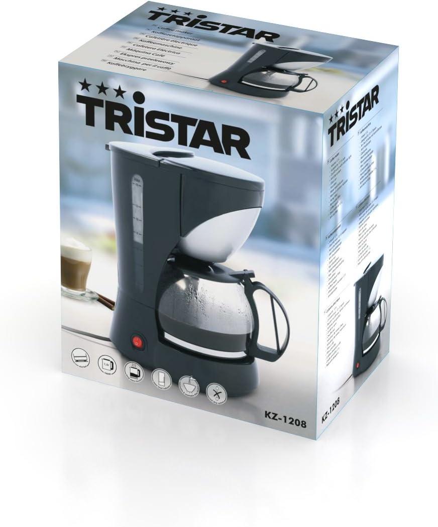 Tristar KZ-1208 CAFETERA 1000W 12-15 TAZAS, 1000 W, 1.5 litros ...