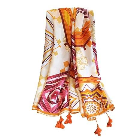 Bufandas de algodón y Lino de Las Mujeres, Toalla Protectora de la Toalla del mantón