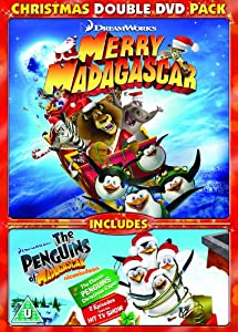 Merry Madagascar & Penguins of Madagascar Christmas Caper ...