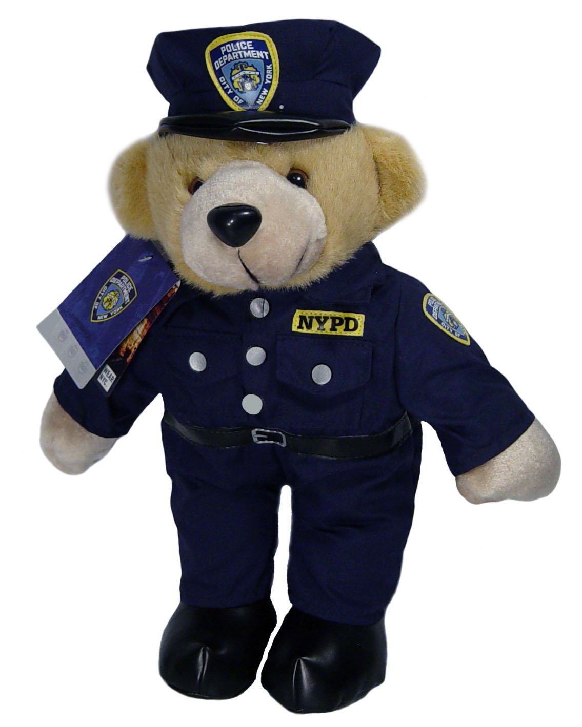amazon com nypd teddy bear stuffed animal officially licensed by
