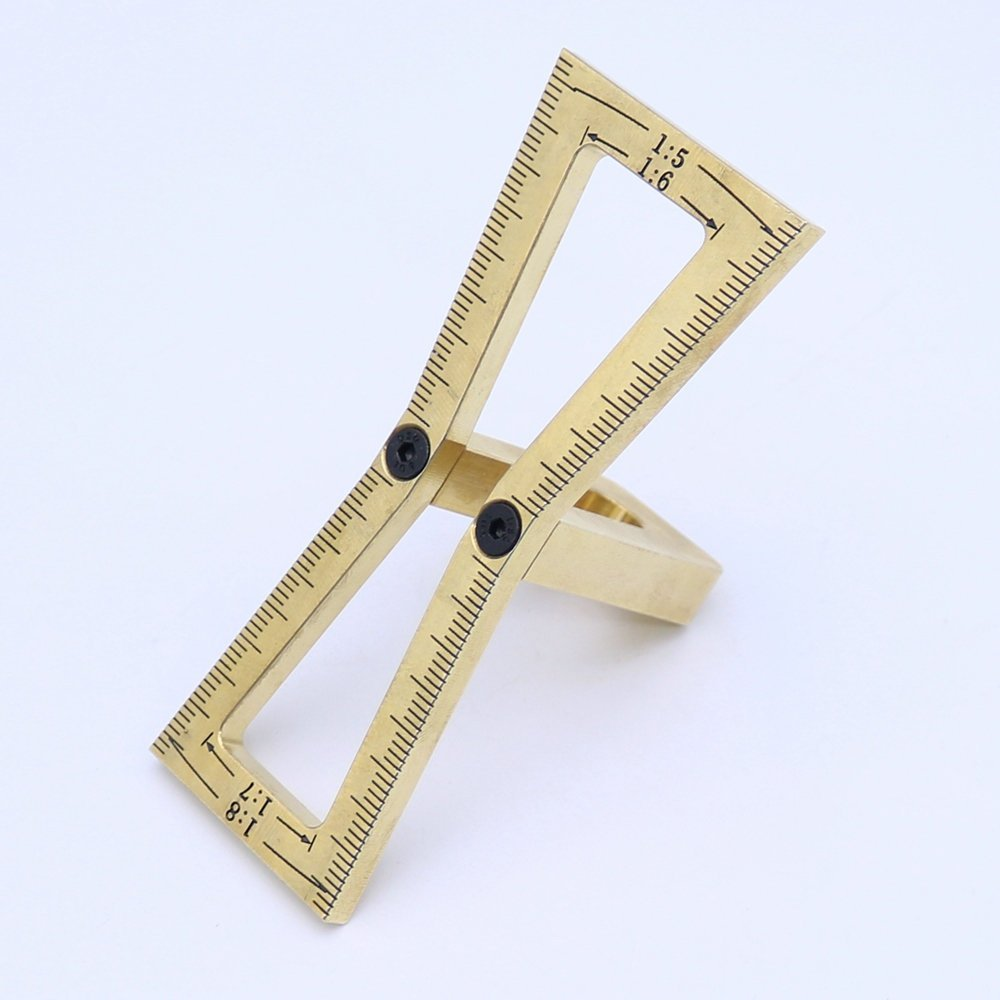 Carpenter Hand Cut Wood Joints Gauge Dovetail Marker Guide Woodworking Tool PANINA