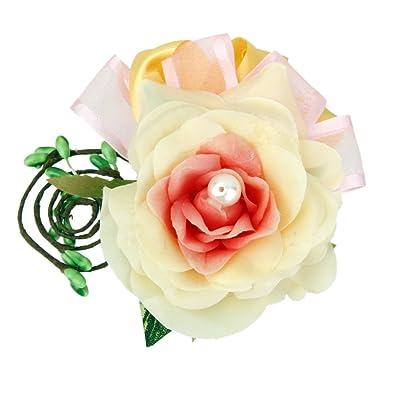 se connecter mieux choisir dessins attrayants Broche Fleur à Boutonnière Pince à Cheveux pour Mariage