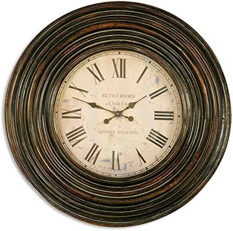 Uttermost 6726 Trudy 38 Wooden Wall Clock