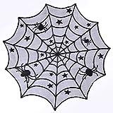 Halloween Lace Spider Round We