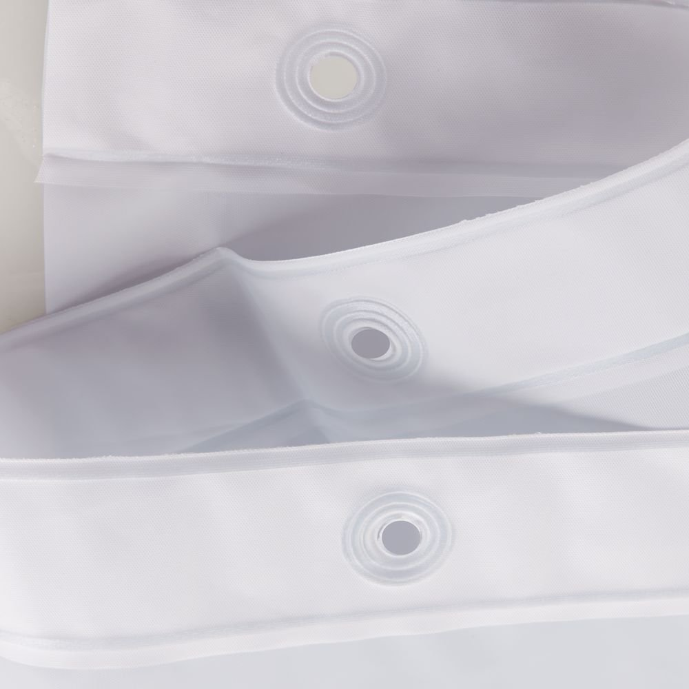 PVC Free Mold//Mildew Resistant 72 x 84 72 x 84 12257 InterDesign PEVA 3 Gauge Shower Curtain Liner Lavender