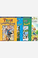 The Pippi Longstocking 4-Book Set: Pippi Longstocking, Pippi Goes on Board, Pippi in the South Seas, and Pippi on the Run Paperback
