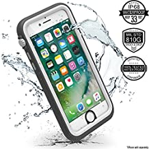 Catalyst Water Proof Shock Resistant Case for Apple iPhone 7 (Alpine White)