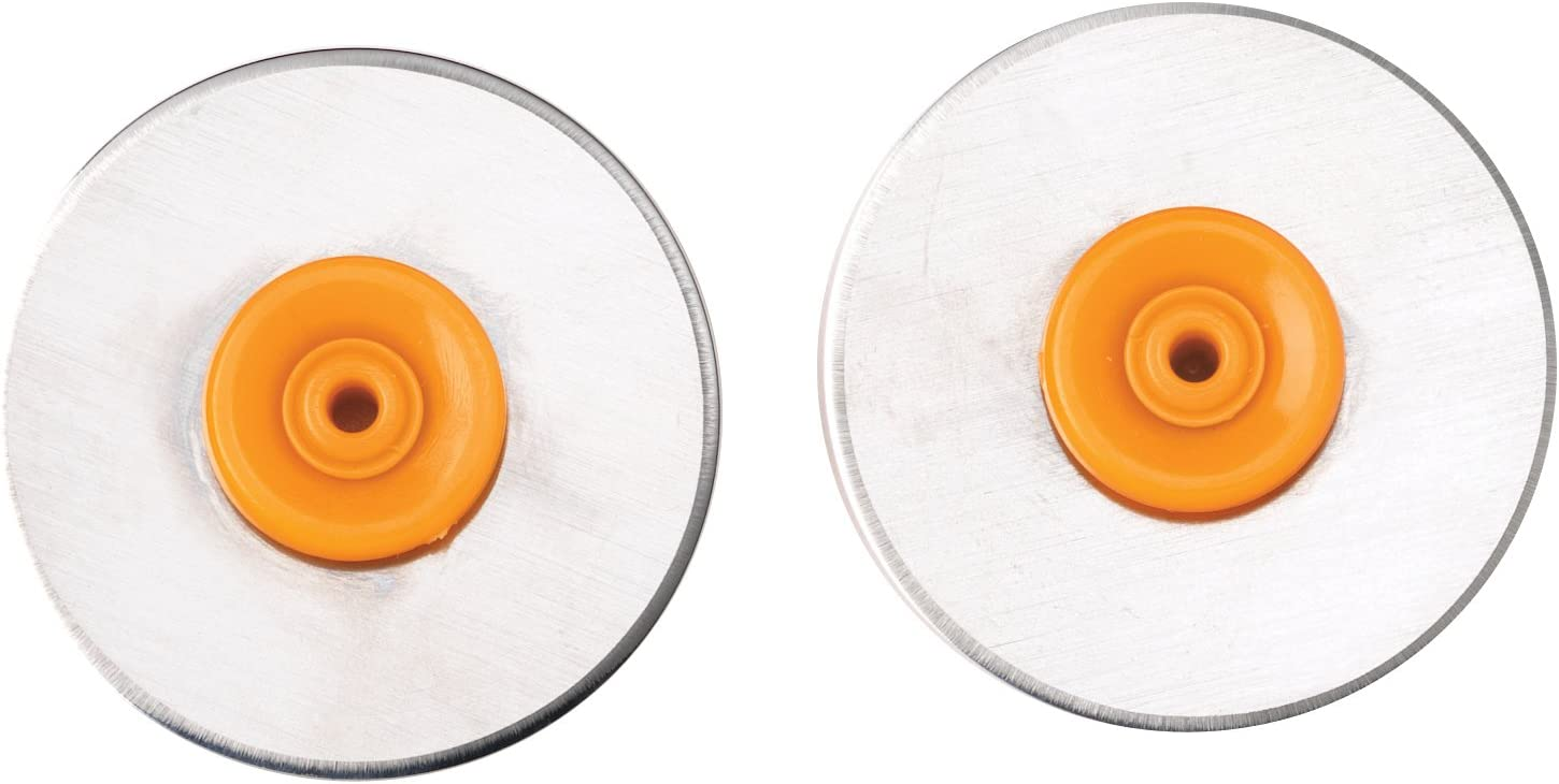 Fiskars 199140-1001 Portable Rotary Trimmer 28mm Replacement Blade Scallop