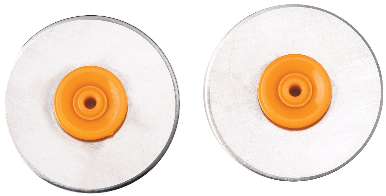 Fiskars - Rotary Trimmer Replacement Blade - 28mm Straight 2/Pkg