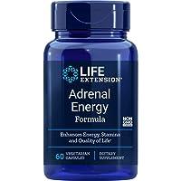 Life Extension Adrenal Energy Formula, 60 Vegetarian Capsules