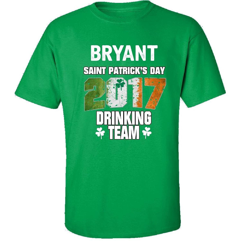 Bryant Irish St Patricks Day 2017 Drinking Team - Adult Shirt