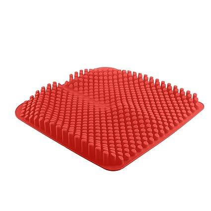 QIHANGCHEPIN Asiento de Coche de Silicona 3D - Confort Gel ...