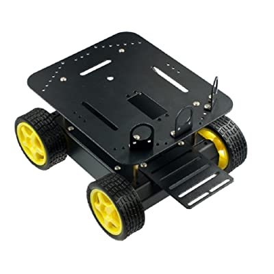 DFRobot Pirate - 4WD Arduino Robot Mobile Platform: Industrial & Scientific