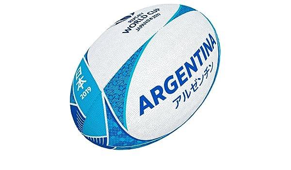 Gilbert - Pelota de Rugby Unisex con diseño de la Copa del Mundo ...