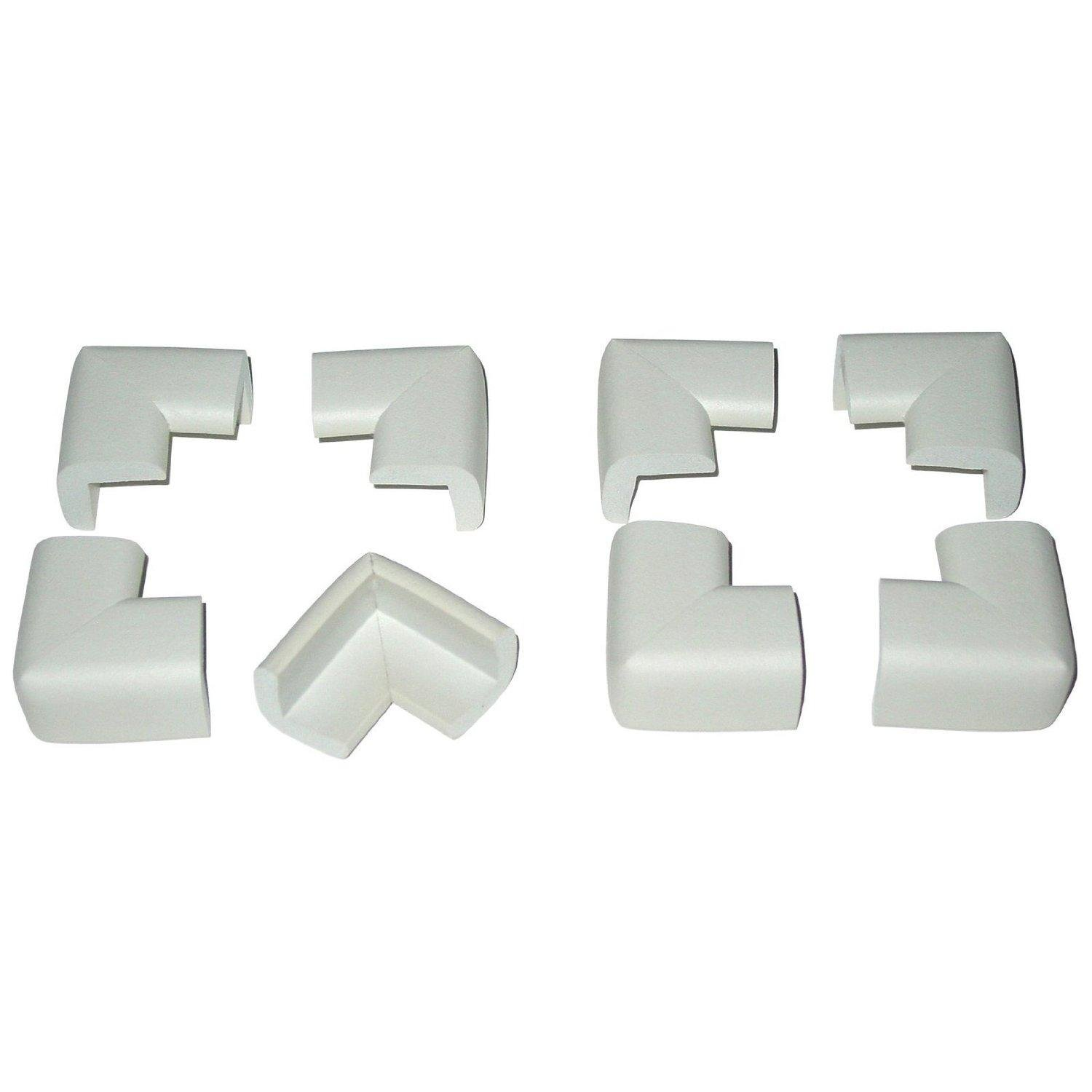 Toddler Kusions for Corners (8 Pack) White