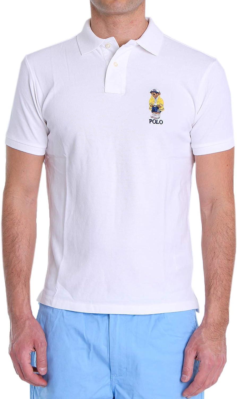 Polo Polo Ralph Lauren Oso Blanco Hombre: Amazon.es: Ropa y accesorios