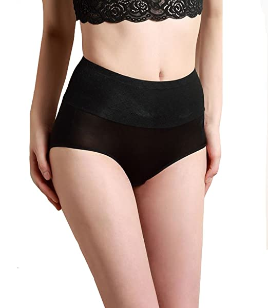 0f0bbe9ee7929 SilRiver Womens Silk Tummy Control Panties